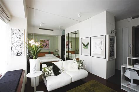 decor ideas  steal  tiny studio apartments home