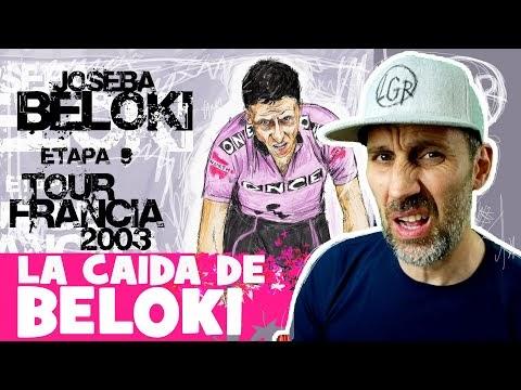 TDF2003. 'LA CAÍDA DE BELOKI'. Tour de Francia 2003. Etapa 9 - Alfonso Blanco
