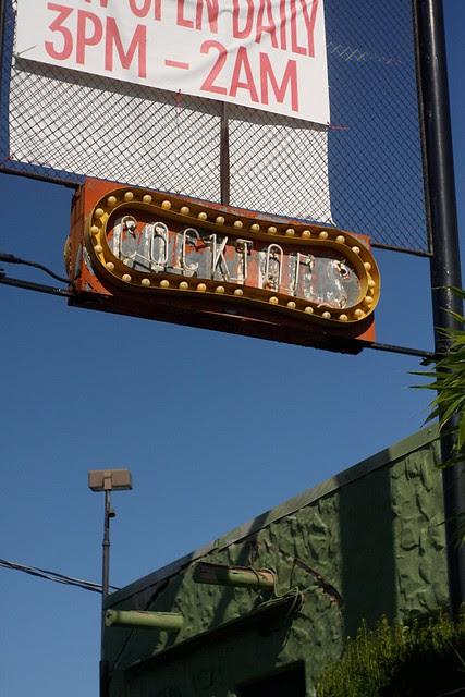 neon cocktail sign, ne 33rd & sandy