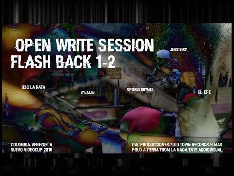 Polo a tierra; Open Write Session junto a 3 grandes invitados desde Venezuela (Video) | 2015 | Colombia