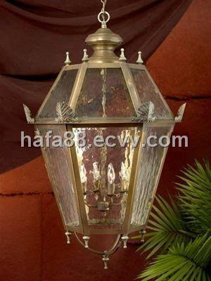 Brass indoor and outdoor hanging lights (CL-093) - China Copper ...