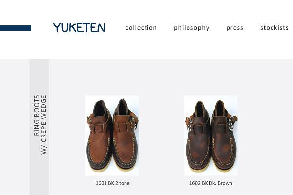 Yuketen ring boots 08