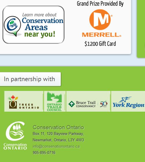 conservation ontario healthy hikes