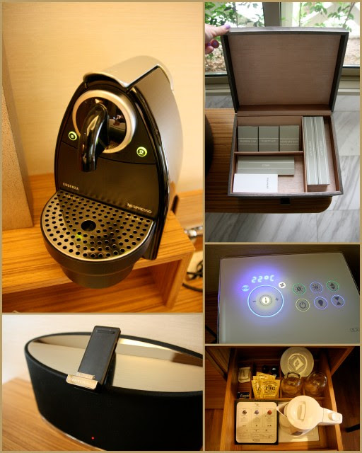 In-room amenities include Nespresso and Bowers & Wilkins iPhone dock