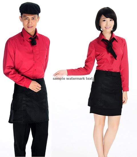 mẫu áo đồng phục quán cafe