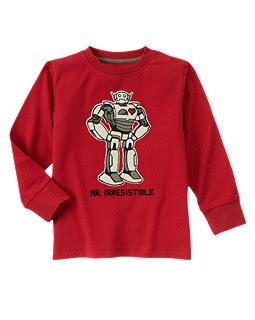 Valentine Robot Tee