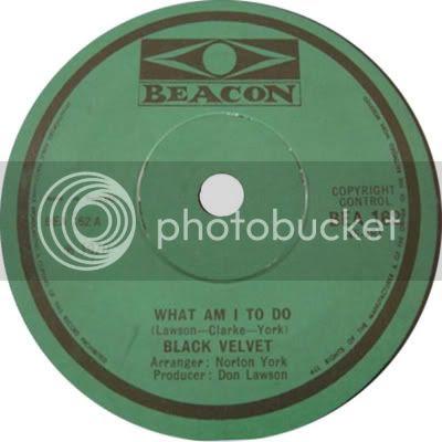 Black Velvet What Am I To Do