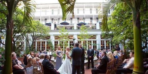 Royal Sonesta New Orleans Weddings   Get Prices for
