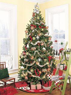 Christmas Tree Decorating Ideals