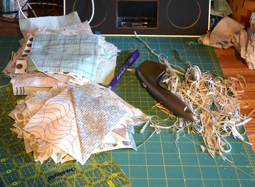Windmills and Trees Quilt - making hsts