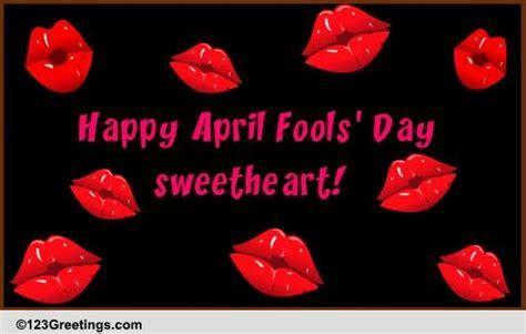 Let's Break Up On April 1st! Free Love eCards, Greeting