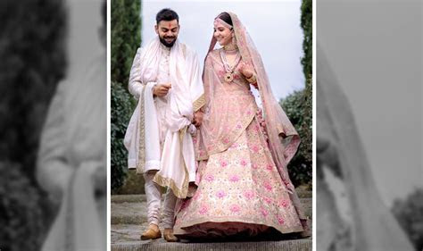 Wedding Lehengas Designs Collection from Anushka Sharma to