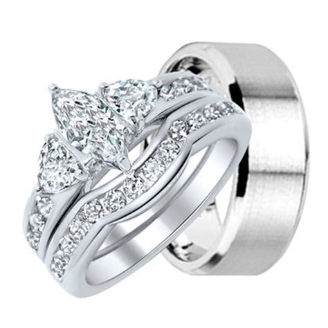 Select matching wedding rings   BingeFashion