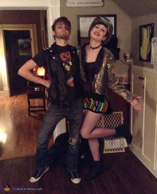 The Rocky Horror Picture Show Eddie And Columbia Costume