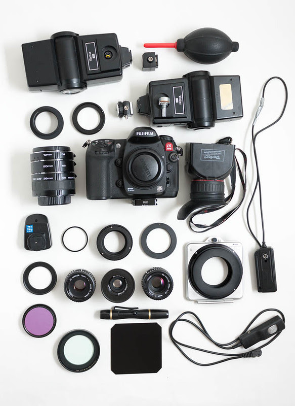 Vis-UV-IR photography gear