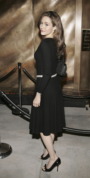 Emmy Rossum - Harry Winston Celebrates New Beverly Hills Store - Arrivals