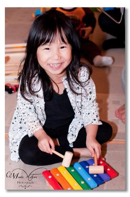 Thurs April 19, 2012, Happy girl!!