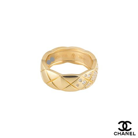 chanel coco crush ring