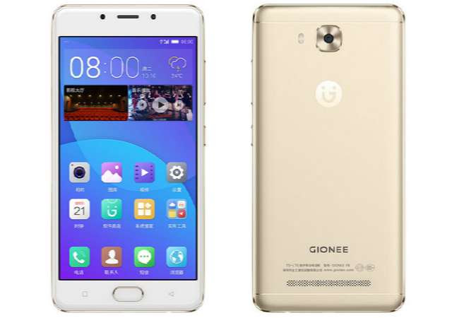 Gionee F5 with 4000mAh Battery, 4GB RAM, Fingerprint Sensor Launched