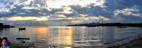 panorama Buntal beachwtmk
