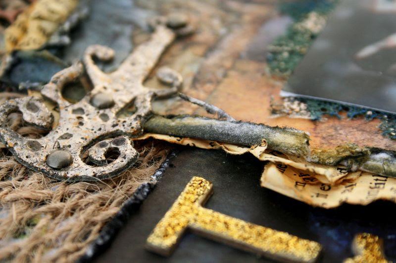 Treasure closeup