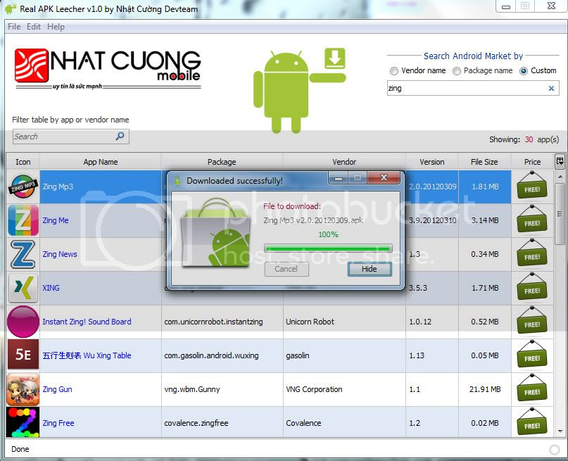 Real APK Leencher - imagem retirada do site codeimba.com