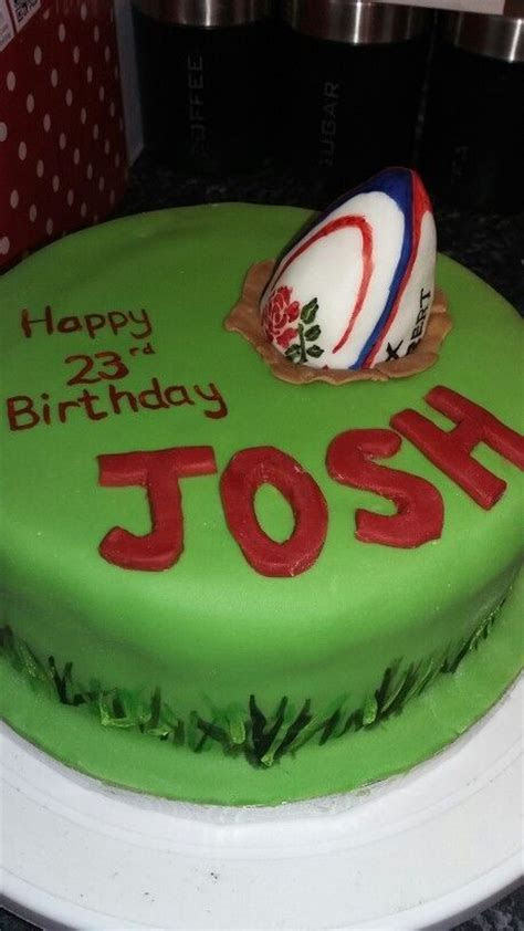 17 Best ideas about Rugby Cake on Pinterest   Football