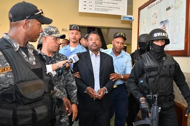 Peralta ingresa cárcel Anamuya y no en La Romana como dispuso el juez