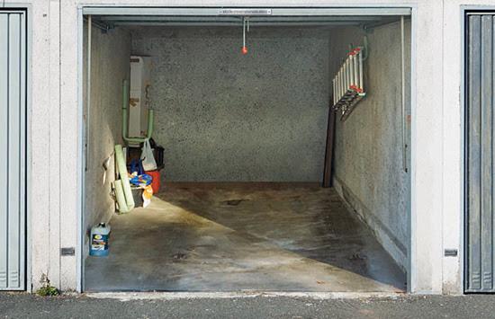 Πρωτότυπες πόρτες για το γκαράζ.