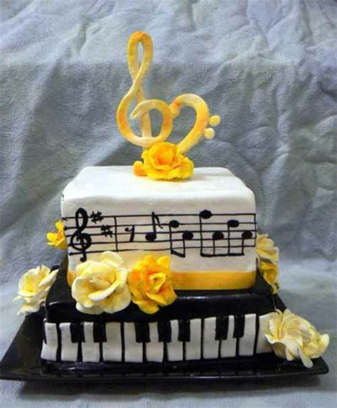 40 Tasty Music Cakes For Real Music Lovers