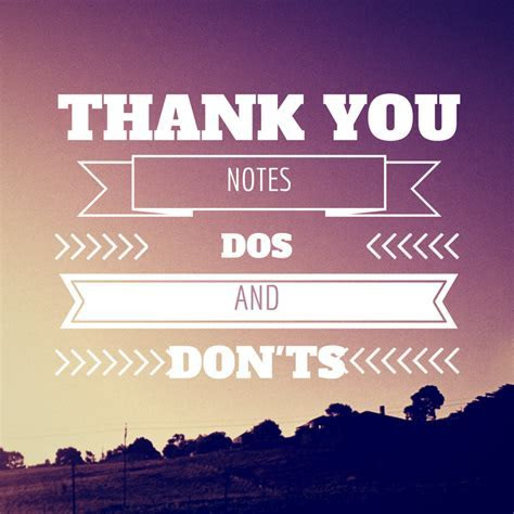 Thank You Notes Dos and Don'ts     TopWeddingSites.com