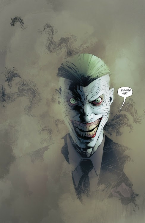 The Joker by Greg Capullo - click to see the larger version along with more comic book art