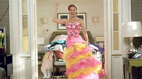Katherine Heigl celebrates '27 Dresses' 10th anniversary