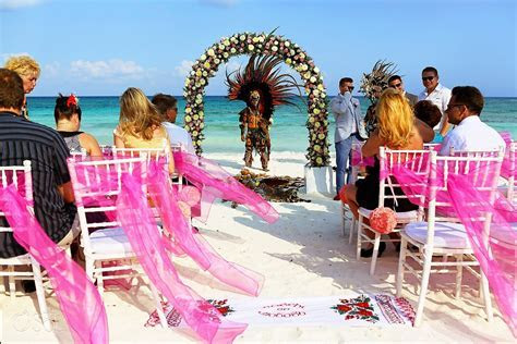 Riviera Maya Wedding Barcelo Maya Colonial   Anna and