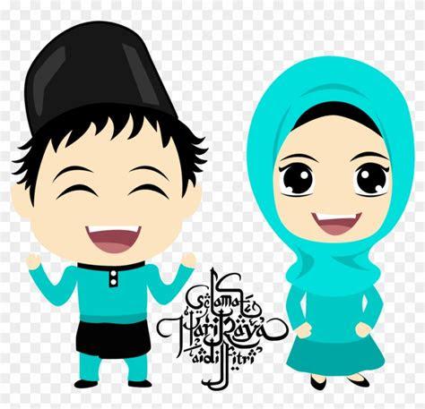 gambar kartun guru muslimah