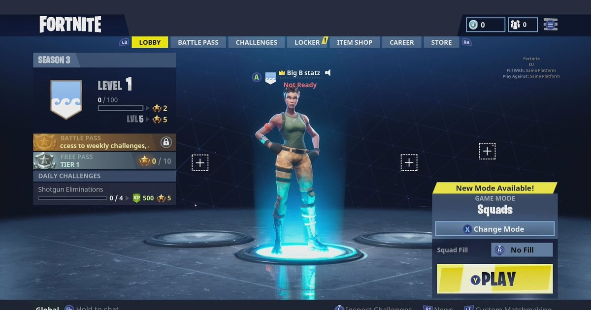 Fortnite Epic Games Login Xbox | V Bucks Epic.com No Human ...