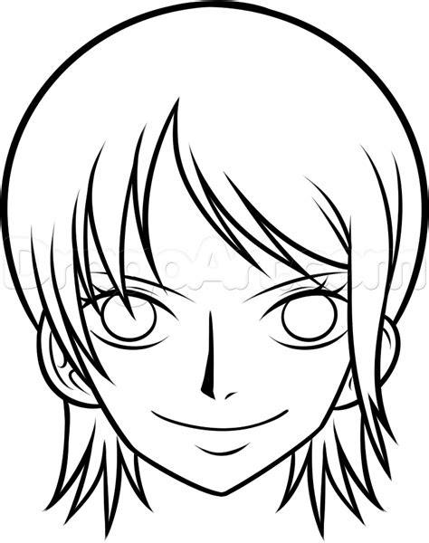 draw nami   piece step  step anime