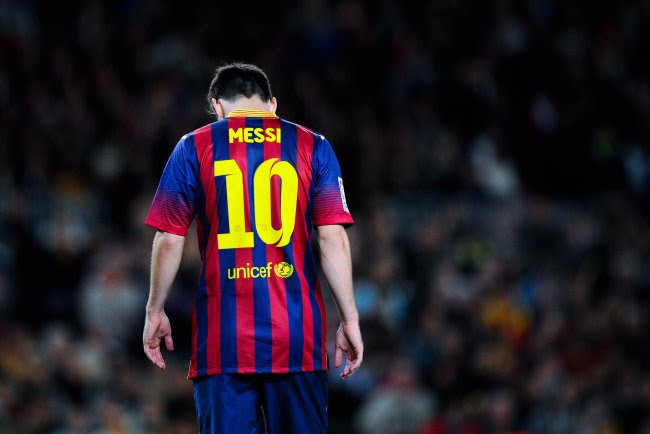 Lionel Messi will be out for two weeks with another Harmstring Injury