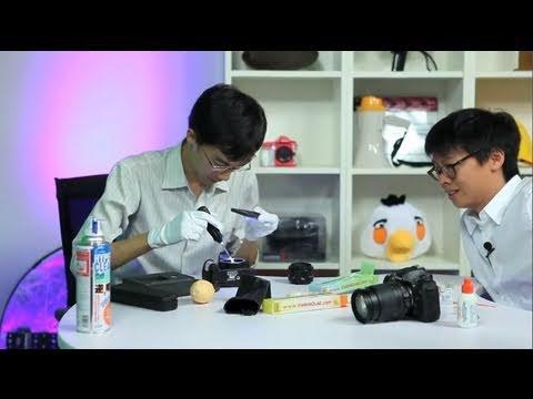 Cara Membersihkan Jamur di Sensor Kamera DSLR