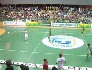 """Granja """"massacra"""" Jijoca no zonal da I Copa TV Verdes Mares de Futsal"""