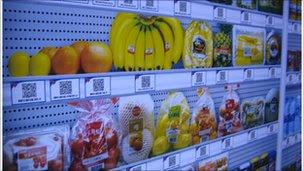 Virtual groceries