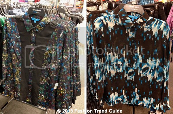Derek Lam for Kohl's DesigNation printed tops and blouses