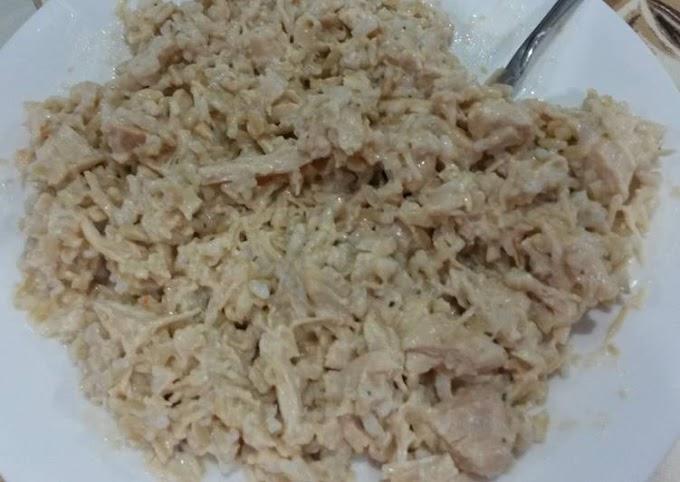 Simple Way to Prepare Homemade Crock pot creamy Italian chicken