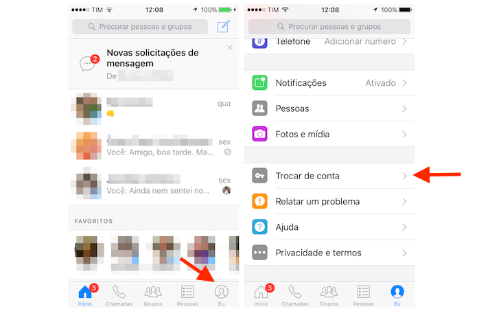 Facebook messenger proxy iphone