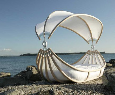 Outdoor Canopy Beds – Float bed by Design Mobel will make your ...