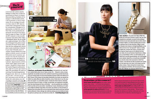 French Glamor: do it yourself article pg 3