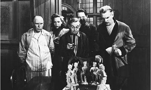 Fotograma de la película Diez negritos.