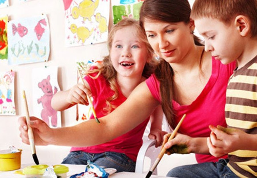 Talleres de pintura para niños: ¿qué aprenden?