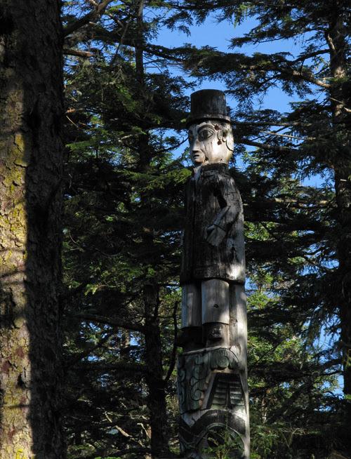 Spencer Pole, Kasaan Totem Park, Kasaan, Alaska