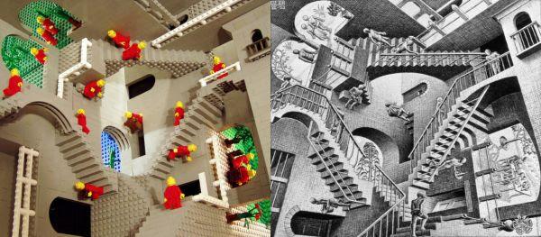 Escher Relatividade